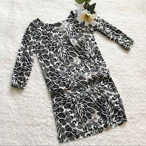 BCBG MAXAZRIA Drop Waist Dress